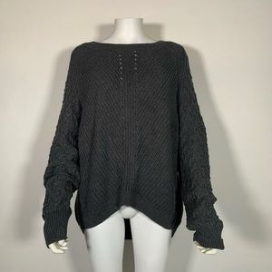 1 state Sweater Pullover knitted  Boat Neck Sz XL
